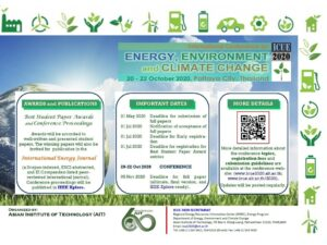 MESfIA participated in the International Conference on Energy, Environment and Climate Change