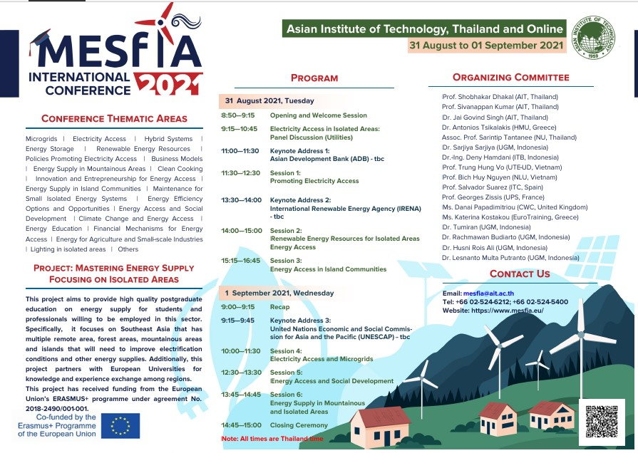 Read more about the article MESFIA | Final Conference – Leaflet